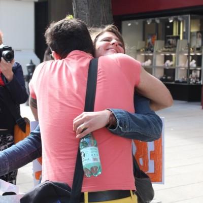 Free Hugs Vienna @ Global Free Hugs Day 02 May 2015 140
