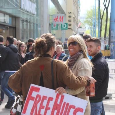 Free Hugs Vienna @ Global Free Hugs Day 02 May 2015 145