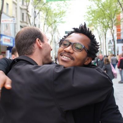 Free Hugs Vienna @ Global Free Hugs Day 02 May 2015 155