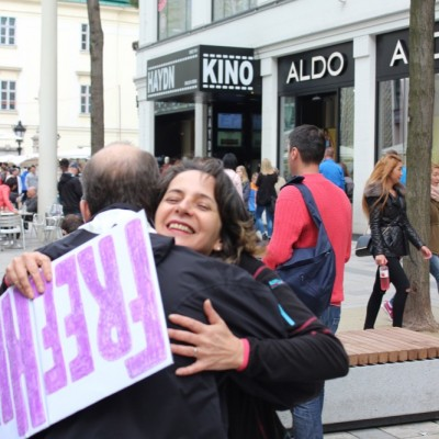 Free Hugs Vienna @ Global Free Hugs Day 02 May 2015 157