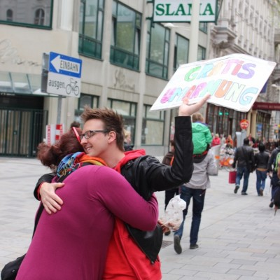 Free Hugs Vienna @ Global Free Hugs Day 02 May 2015 160