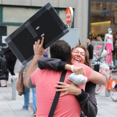 Free Hugs Vienna @ Global Free Hugs Day 02 May 2015 163