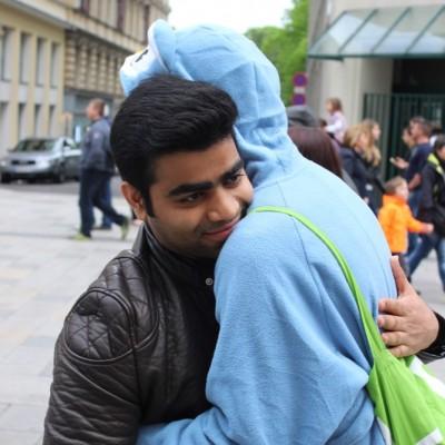 Free Hugs Vienna @ Global Free Hugs Day 02 May 2015 164