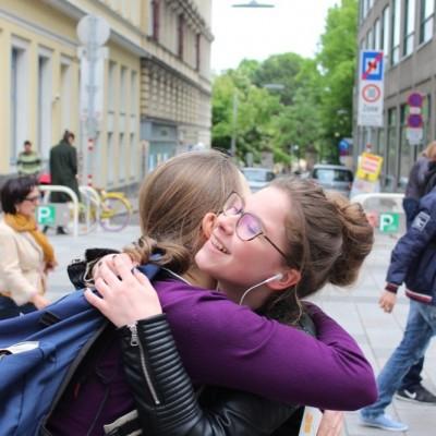 Free Hugs Vienna @ Global Free Hugs Day 02 May 2015 165