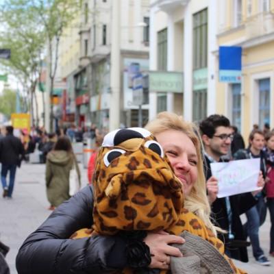 Free Hugs Vienna @ Global Free Hugs Day 02 May 2015 168