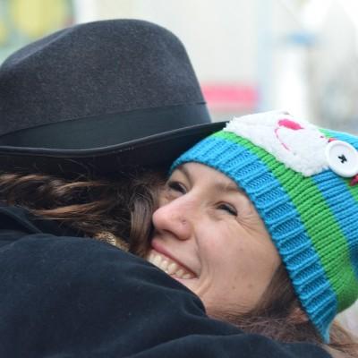 Free Hugs Vienna 07 December 2013 002