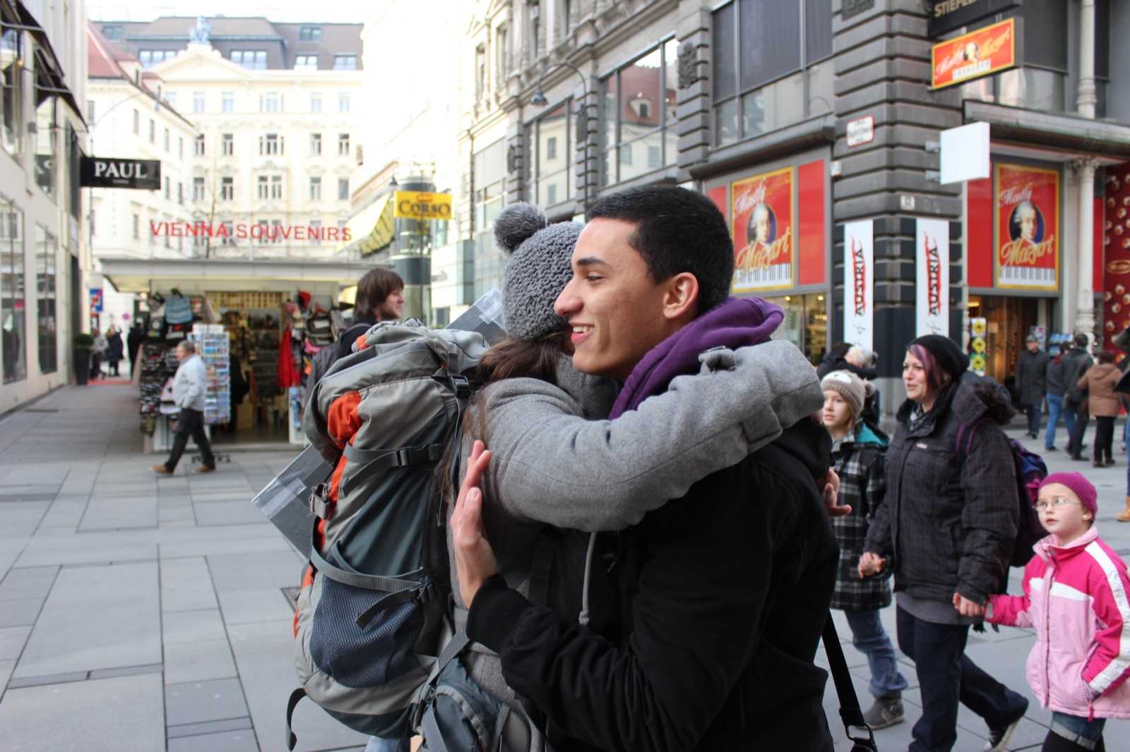 Free Hugs Vienna February 15th, 2014 - Picture by Alexander Holly